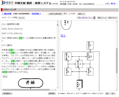 中韓文献翻訳検索システム1