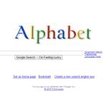 alphabet、Google